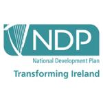 national development plan transforming ireland vector logo small